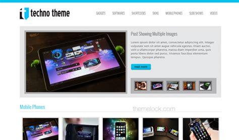 free wordpress themes computer technology tech theme themesdesk wordpress template 187 themelock com