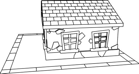 small house coloring page small cartoon house coloring page wecoloringpage