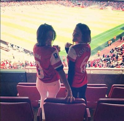 emirates instagram where arsenal top the league hottest wags emirates 24 7
