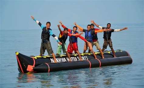 banana boat ride cost in pattaya banana boat ride at nagaon beach in alibaug thrillophilia