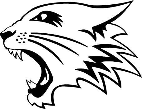 wildcat clipart high school musical pencil   color