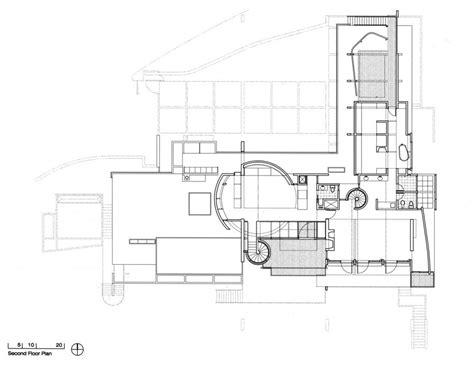 richard meier floor plans friesen house richard meier partners architects