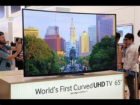 Samsung 65 Curved Tv by Samsung 65 Quot Smart 3d Hd Curved Tv Vs 55 Quot 4k Ultra Hd Tech Spec Guide Ue65h8000 55hu8200