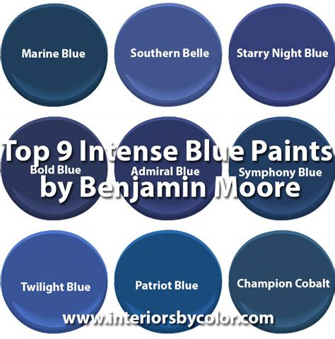 benjamin blue colors paint color schemes interiors by color 123 interior