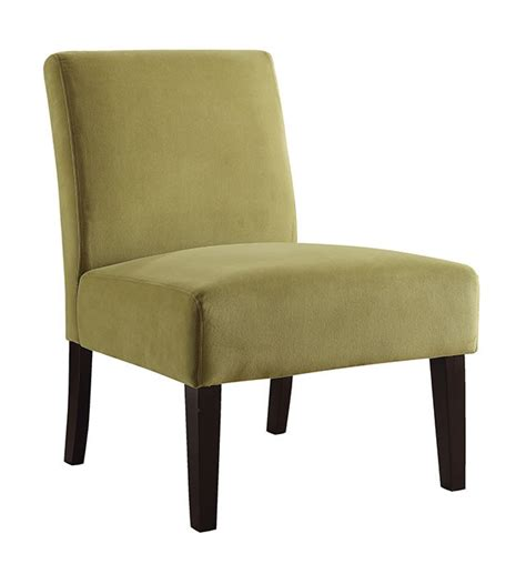 accent chairs for living room bedroom home armless ave six laguna armless living room bedroom lounge side