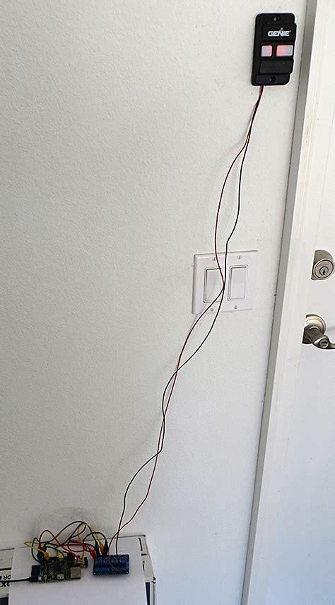 Garage Door Button Wire The Engineered Garage Door Opener Phase 1