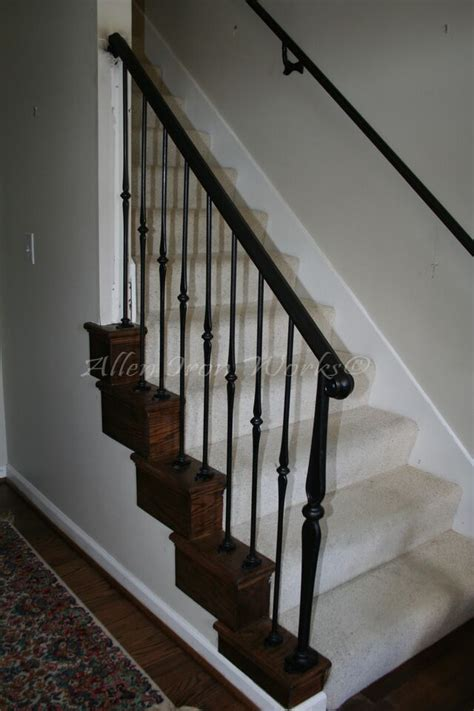 interior banister railings interior railings birmingham al allen iron works