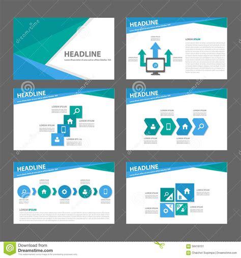free download website templates for advertising blue and green multipurpose brochure flyer leaflet website