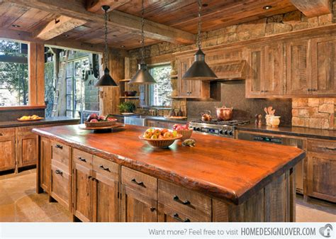 Distressed Wood Kitchen Cabinets 15 Perfectly Distressed Wood Kitchen Designs Decoration For House