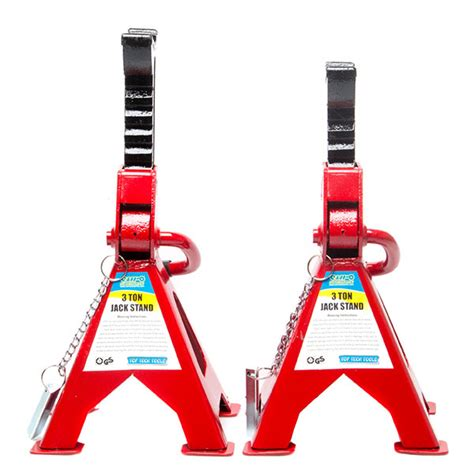10 ton axle stands top tech ratchet axle stands 3 ton capacity per pair