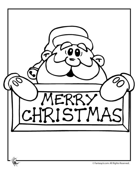 christmas card coloring pages coloring