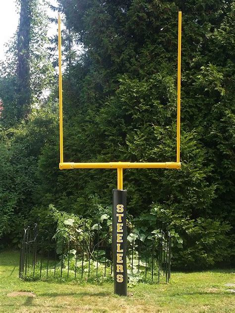 backyard field goal posts backyard football goalpoast home court hoops