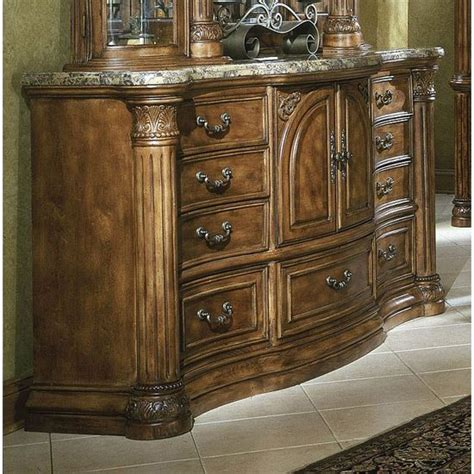 aico monte carlo bedroom set classic pecan for the