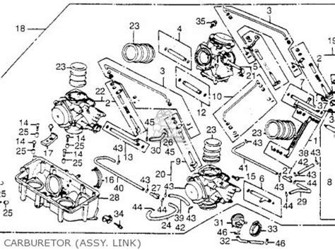 carburetor honda magna