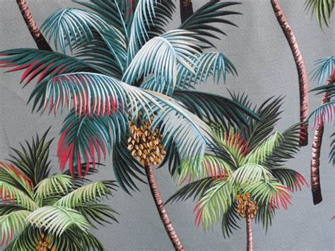 hawaiian upholstery fabric tropical hawaiian 100 cotton barkcloth upholstery fabric