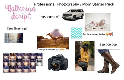 Blueprint Canon Starter Pack now booking professional photography starter pack my career such a sweet baby 10000000