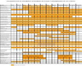 Calendario Que Es Calendario De Seguimiento De Plagas Y Enfermedades De Los