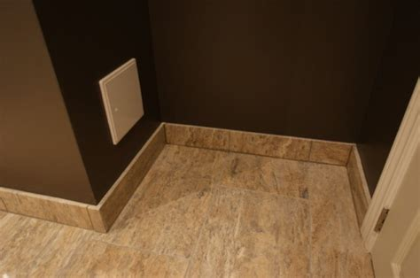bathroom floor base aggroup inc cullen bathroom polished travertine tile baseboards