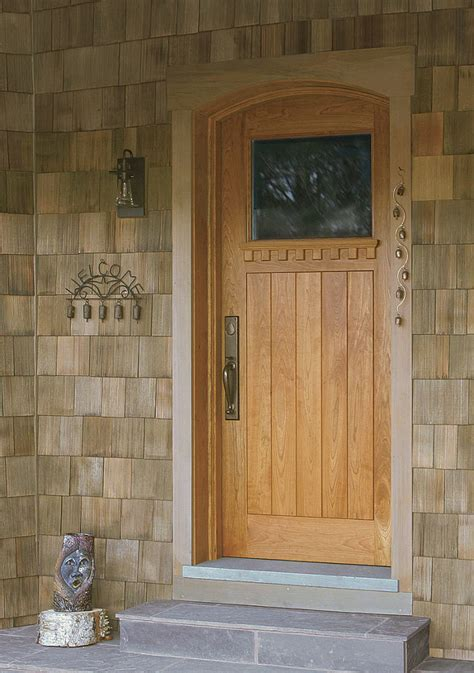 build  high performance exterior door fine homebuilding