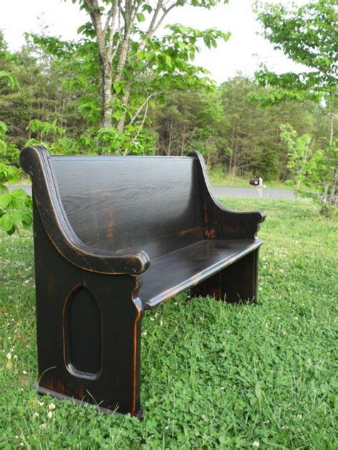 pew church bench wooden church pew