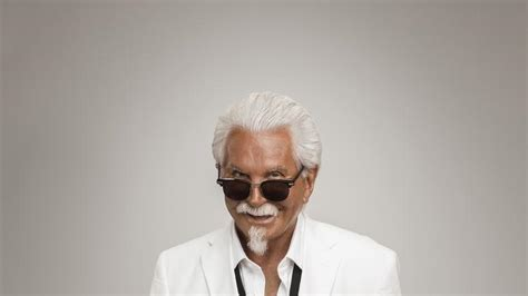 actor named george with a tan actor george hamilton is the next col sanders