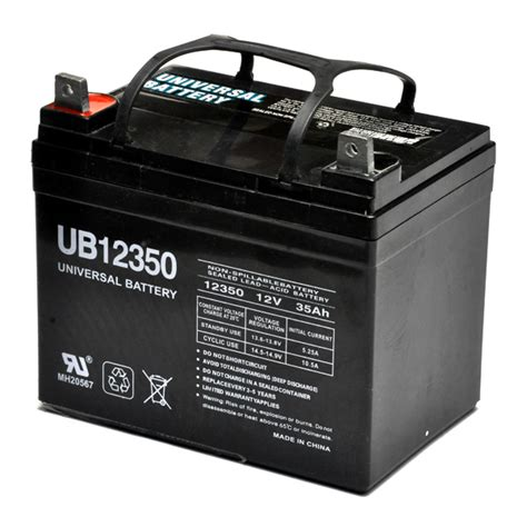 Power Chair Batteries by U1 35 Ah 12 Volt Ub12350 Agm Mobility Scooter Power