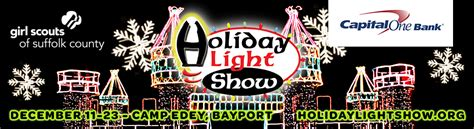 tickets for 12th annual holiday light show in bayport from