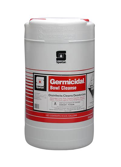 Spartan Detox by Germicidal Bowl Cleanse Spartan Chemical