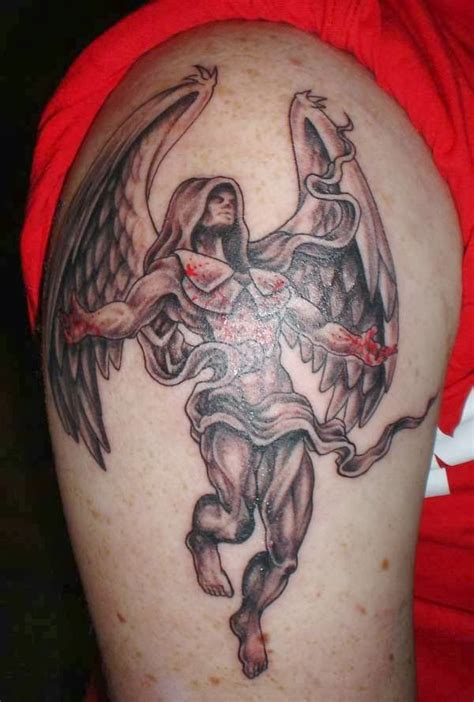 angel of death tattoo of tattoos 2013 fashion tips for all