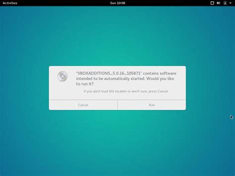 installing ubuntu server on virtualbox install virtualbox guest additions on ubuntu gnome 16 04