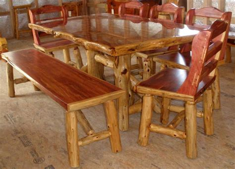 Log Pub Table And Chairs by Log Pub Table And Chairs Images