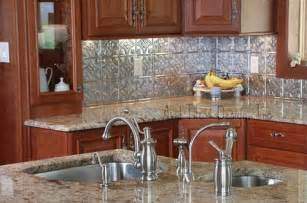 Kitchen Backsplash And Countertop Ideas backsplash tile looks great with the gold colored marble countertop