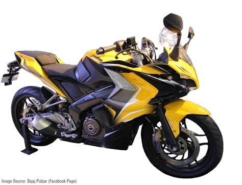 Bajaj Pulsar 400SS 'Yellow'