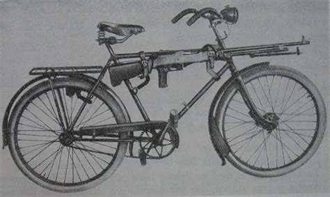 Bicycle Gun Rack by Actual Footage Of Wehrmacht Mechanisation Shitwehraboossay