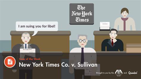 new york times co v sullivan 1964 by lyric martin on prezi