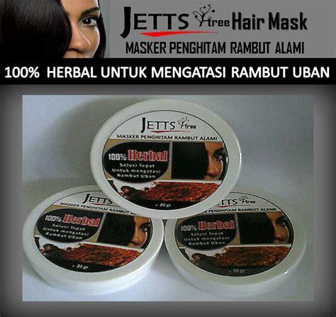 Jettstree Hair Mask penghitam rambut penyebab uban