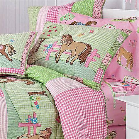 pony bedding pony dreams quilt bedding