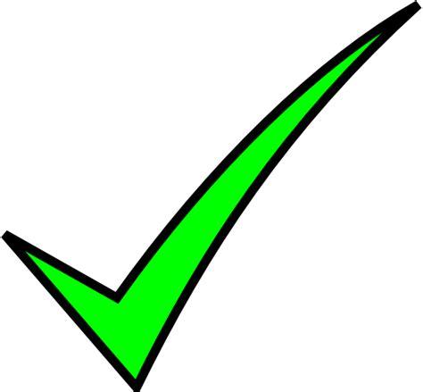 check clip green check clip at clker vector clip