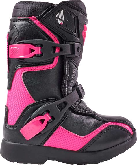 pink motocross 2017 fox racing kids comp 5k boots mx atv motocross off