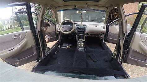Karpet Honda Accord honda accord carpet removal install