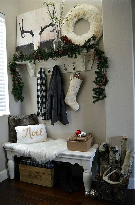 38 cozy and inviting winter entryway d 233 cor ideas digsdigs