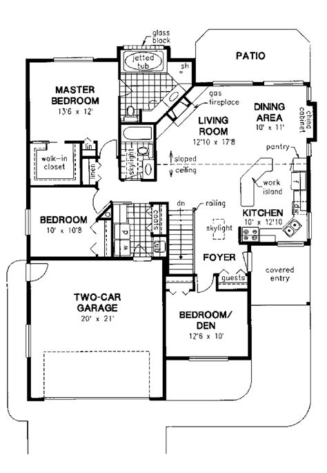 floor plan 3 bedroom bungalow house 301 moved permanently