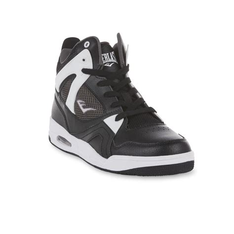 everlast basketball shoes everlast 174 s fadeaway high top basketball shoe black