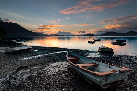 lake boats boat by lake free photo iso republic