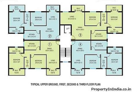 apartment block floor plans house plans 1553