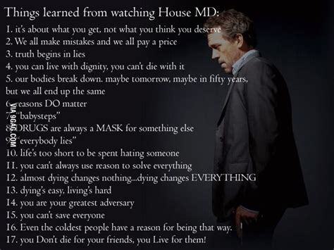 house md quotes lessons from house md house md meme and house
