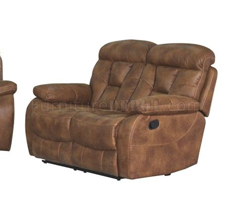 camel leather reclining sofa u2007 reclining sofa in camel micro suede w options