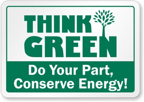 think green conserve energy label recyclereminders com sku lb 1429