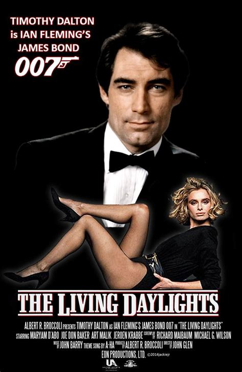 timothy dalton goldeneye poster timothy dalton is james bond in the living daylights