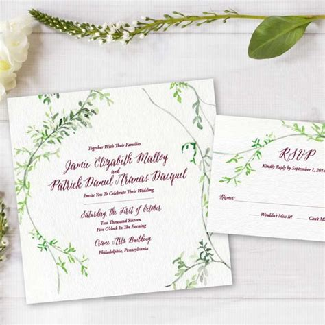painted watercolor wedding invitations painted weddings watercolor wedding invitations
